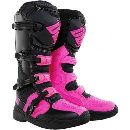 Bottes Cross Shot X11 rose