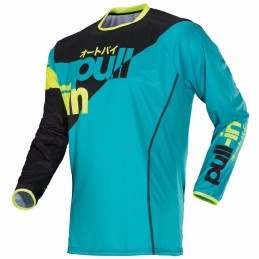 Maillot Pull-In Race aqua