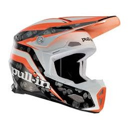Casque Cross Pull-In orange...