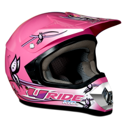 casque cross enfant uride