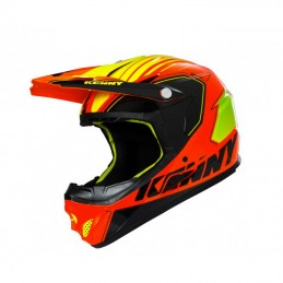 casque bmx kenny rocket orange